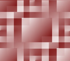 seamless abstract lines background, ribbons, stripes and squares of brown with pink and white on pink with white and dark background close