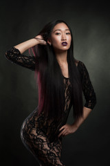 Sexy asian woman