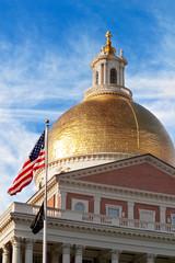 Dome of Massachusetts State Capitol, Boston