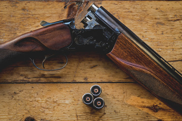 Search photos bullet for 12 gauge shotgun lying on the floor