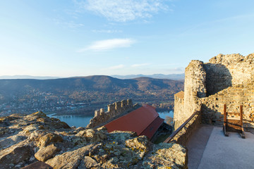 View of Visegrad, Hungary