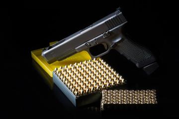 Patronen Kleinkaliber Waffe