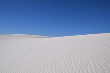 White sand dunes, White Sands National Monument, New Mexico