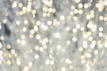 white bokeh light blurred, holiday abstract background, blur defocused