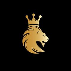 lion, lion head, strong logo