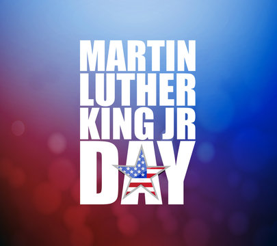 Martin Luther King JR day sign