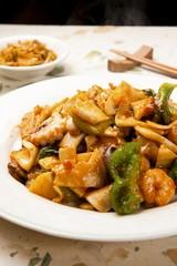 palbochae,  Stir-fried Seafood and Vegetables, 八寶菜