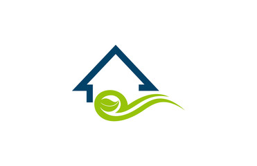 green buildings environment logo