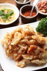 chapssal tangsuyuk,  Sweet and Sour Pork, guobaorou, 찹쌀탕수육, 꿔바로우