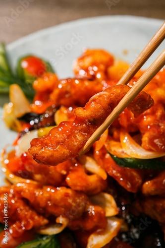Sacheon tangsuyuk, Sichuan-style Sweet and Sour Pork