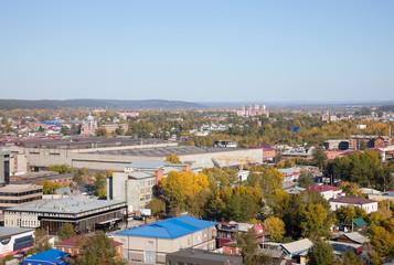 Panorama of the Irkutsk, Russia.