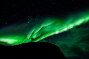 Northen lights (Aurora Borealis) in Iceland
