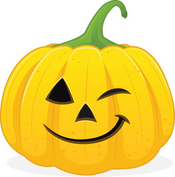 halloween jackolanten winking