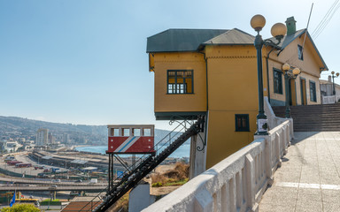 Elevators in Valparaiso, Chile