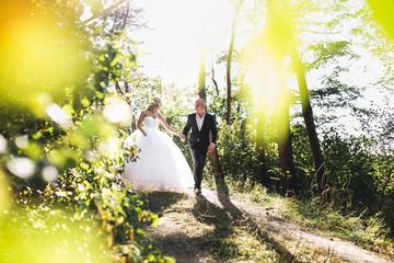 nice couple, wedding day