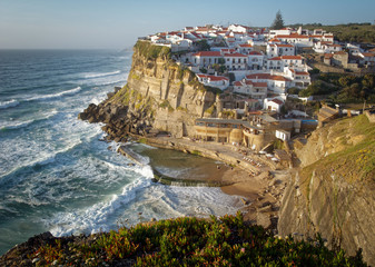 Azenhas on the cliff