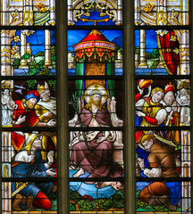Wall Mural - Stained Glass - Ecce Homo