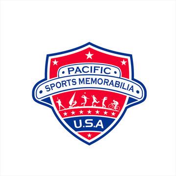 Pacific Sports Vector Logo