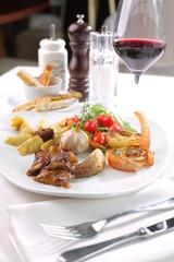 Fine dining - exquisite restaurant