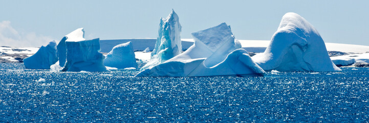 Beautiful view in Antarctica