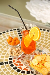 Bistro orange Ice tea