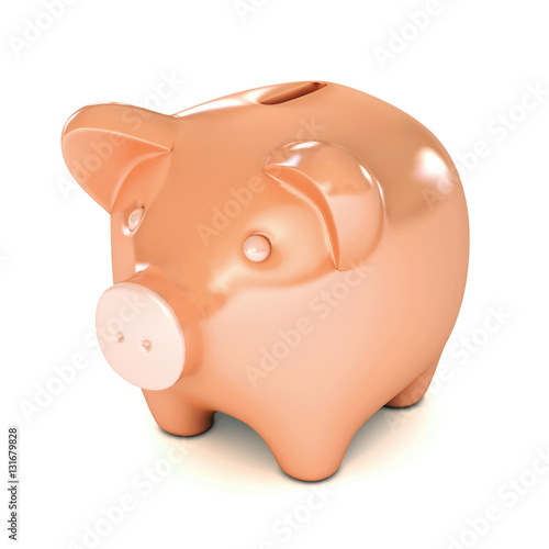 Pink Piggy Bank Stock Photo And Royalty Free Images On