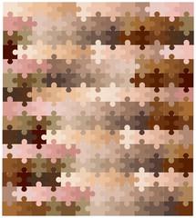 Skin Tone Jigsaw Pieces