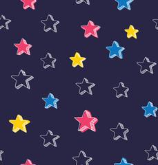 Sketchy star background