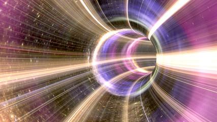 Kosmiczny tunel 3D