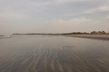 Playa paradisíaca de Gambia