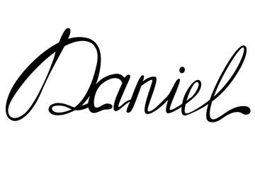 Daniel name lettering Wall mural