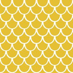 Seamless pattern of yellow squama