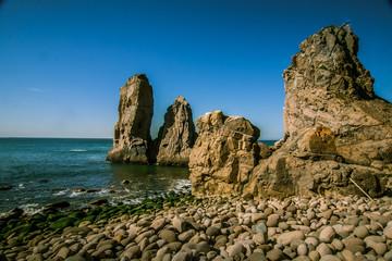 A beautiful landscape on Cabo da Roca in Portugal
