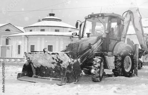 city snow machine