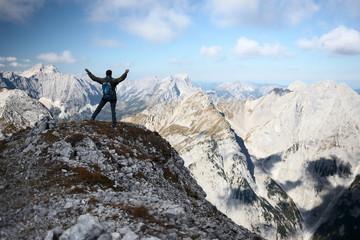 Erfolgsaussicht im Gebirge