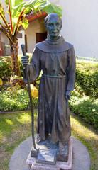 Father Junipero Serra Statue Mission San Buenaventura Ventura Ca