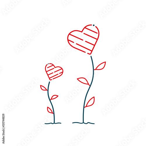 Valentinstag, Muttertag, Geburtstag, Glückwunsch, Herz