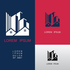 home building city logo