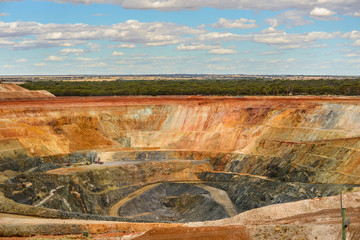 Goldfields Westonia Eastern Wheatbelt region of Western Australia - Near the Superpit