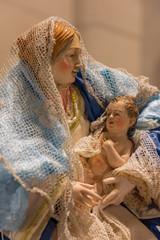 Presepe, Madonna con bambino