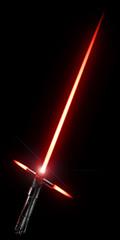 3d rendering of a laser sword