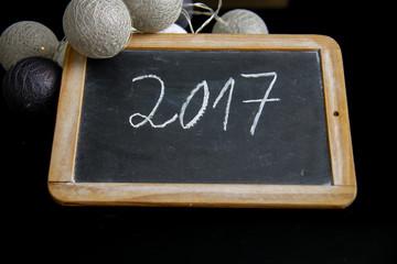 2017 Neujahr Kalender