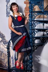 Cute pinup girl dress