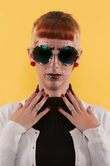 Pop art fashion girl
