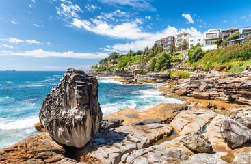 Bondi Beach in Sydney on a sunny day
