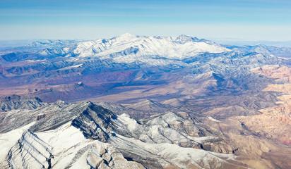 Snow-Capped Mountain Range
