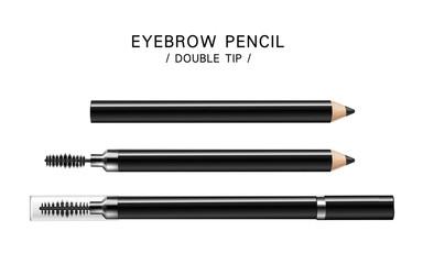 Poster Positive Typography black eyeliner pencils