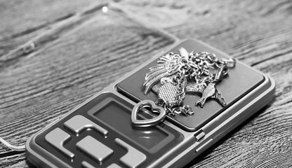 Tools of jewellery. Bracelet.