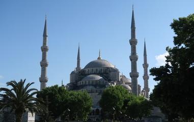 Blue Mosque - Sultan-Ahmet-Camii, in Istanbul, Turkey.