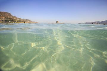 Stintino in Sardegna, mare pulito e acqua cristallina